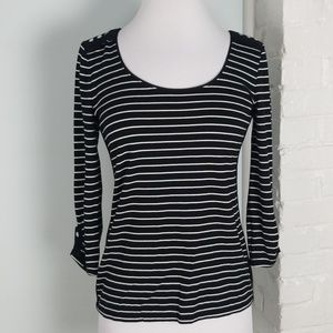 WHBM striped top